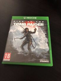 Rise of the Tomb Raider Xbox One Game - Excellent Condition