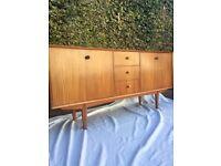 Retro vintage mid century sideboard