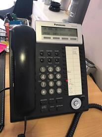 Complete Panasonic phone system.