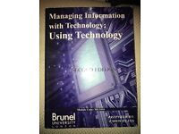 Managing information with technology: using technology