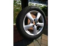 """Honda civic 16"""" alloy wheel with Goodyear efficient grip tyre"""