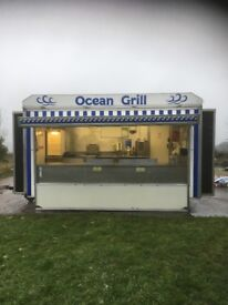 Catering Trailer - Twin Axle - 14ft x 7ft - £7000 ono