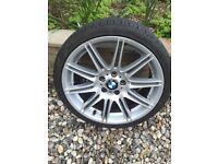 BMW MV4 19inch ALLOY WHEEL FRONT