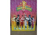 Power Rangers Clock