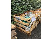 3 wooden crates - free - collection only.