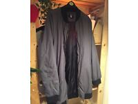 BOOHOOMAN LongLine Bomber Jacket