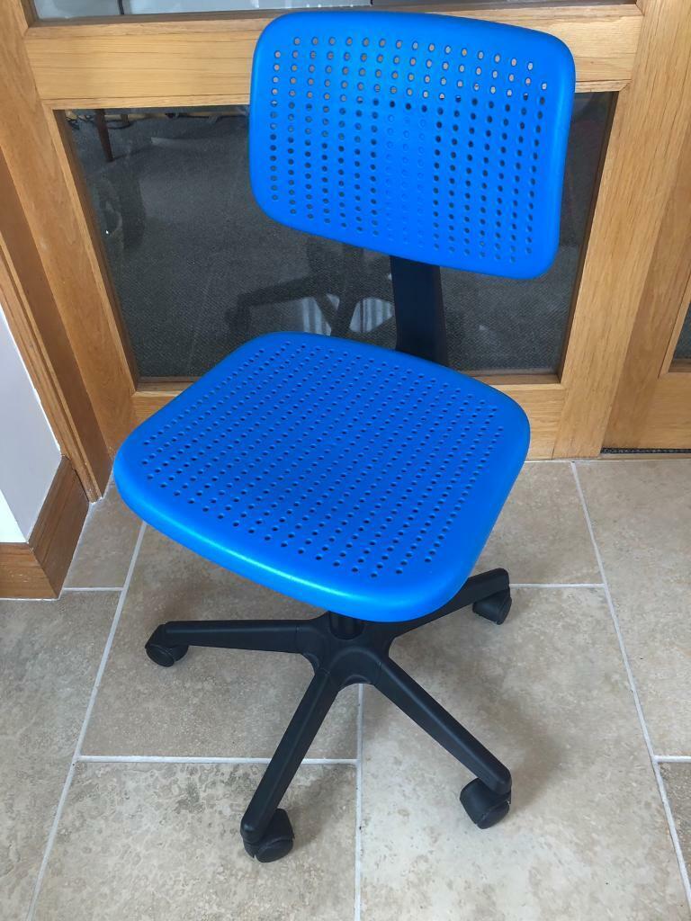 Tremendous Ikea Child Desk Chair In Bangor County Down Gumtree Theyellowbook Wood Chair Design Ideas Theyellowbookinfo