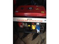 gasoline 3000 240/110v generator