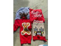 Five xmas jumpers