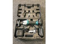 Cordless Angle Grinder With 2 Battery/Charger German Brand NEW
