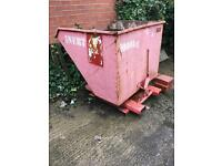 Stacker skip bucket