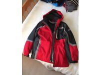 Boys Winter Coat With detachable inner coat Lots of pockets sized for 14 - 16 years