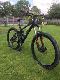 Ghost ASX 4900 Full suspension bike