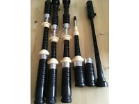 Blackwood Bagpipes with McCallum Chanter