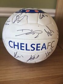 Chelsea 2016/2017 Champions Hand Signed By The Team Ball 100% Authentic