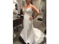 Beautiful White Strapless Wedding Dress - Size 8-10 UK (4-6 US)