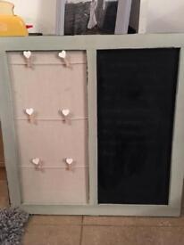 Chalk board/notice board