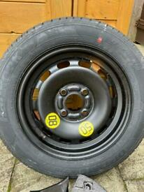 Ford Fiesta 15 Registration Spare Wheel and Jack