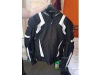 Motorbike RST Jacket - Black Size Large