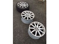 Genuine Audi TT Mk2 18 inch Alloy Wheels