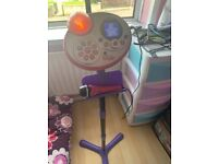 Vtech Super Star Karaoke microphone with stand