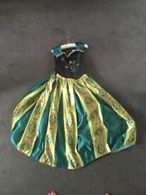 Anna Coronation dress For age 9 to 10 year old