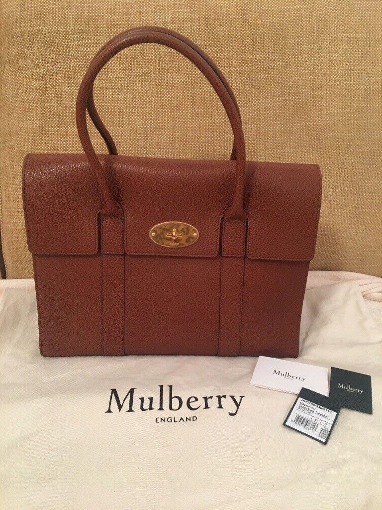 Brand New Genuine Mulberry Bayswater Handbag