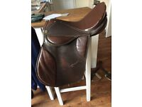 16 inch brown saddle