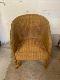 Wicker indoor / garden chair