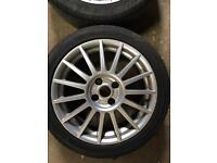 Ford Focus St170 Alloy Wheels And Tyres