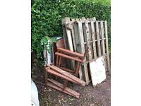 Free fire wood, pallets and solid doors