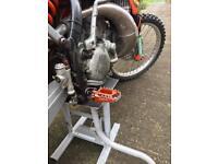 KTM 200 EXC road legal enduro bike