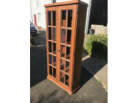 Display Cabinet/Bookcase (solid wood)