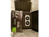 ASUS GeForce DUAL-GTX1060-6G Graphics Card