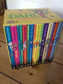 box set Roald Dahl books never used £15