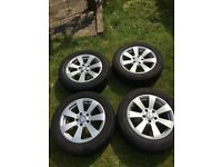Genuine Mercedes C Class W204 16 inch Alloy Wheels and Tyres Set A204 401 1002 (Reduced!!)