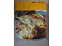 Italian easy cooking book