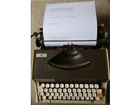 Vintage Brother Typewritter Model XL1010 New Ribbon Fitted