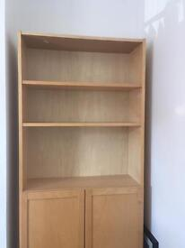 IKEA Billy bookcase and cupboard