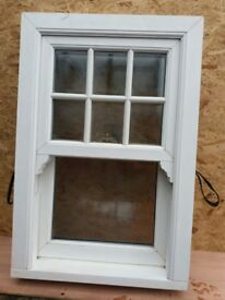 White UPVC Sash and Case Window £100 ono