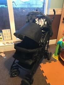MY Child Double Buggy MINT CONDITION