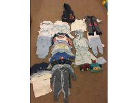 0-3 Months Baby boys Clothes Bundle
