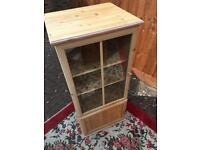 Modern pine cabinet