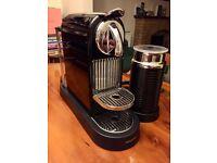 Nespresso CitiZ coffee machine with Aeroccino milk by Magicmix