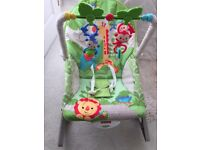 Fisher Price Rainforest Infant to Toddler Rocker