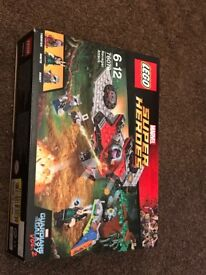 Ravager Attack Lego Set