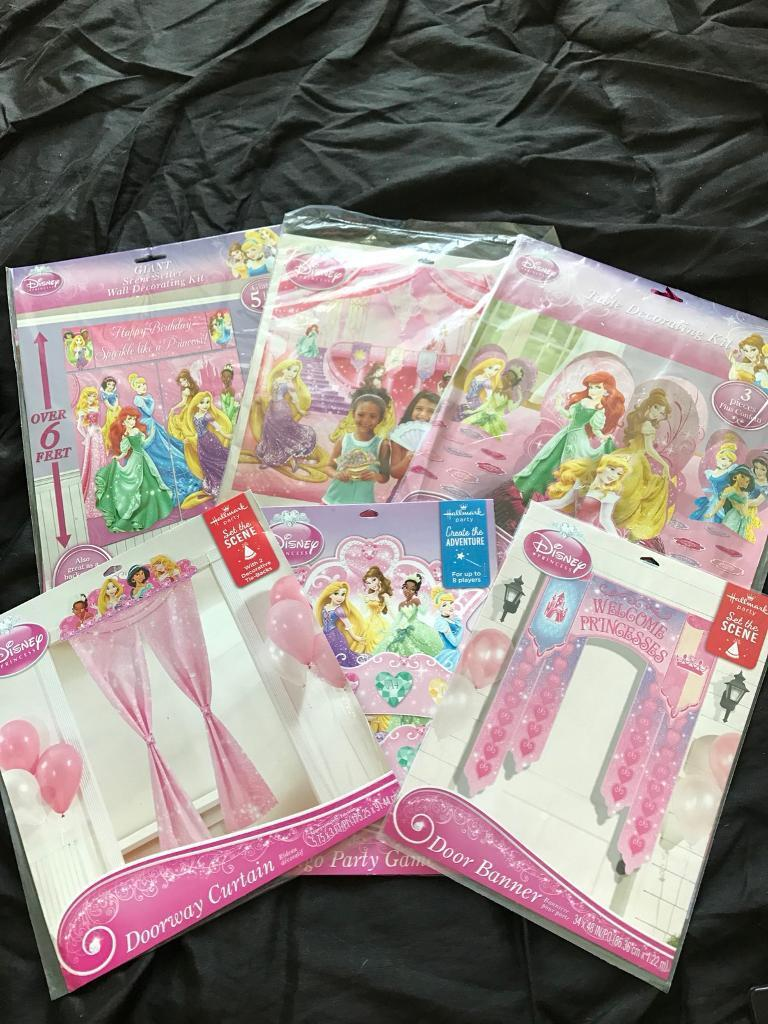 Disney Princess Birthday Set