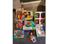 RRP £120 Brand new baby and toddler toys in box bundle. Quick sale