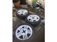 Alloys wheels; Renault Megane. 3 available