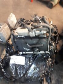 Golf gt 2.0 tdi engine with injectors. Code BKD